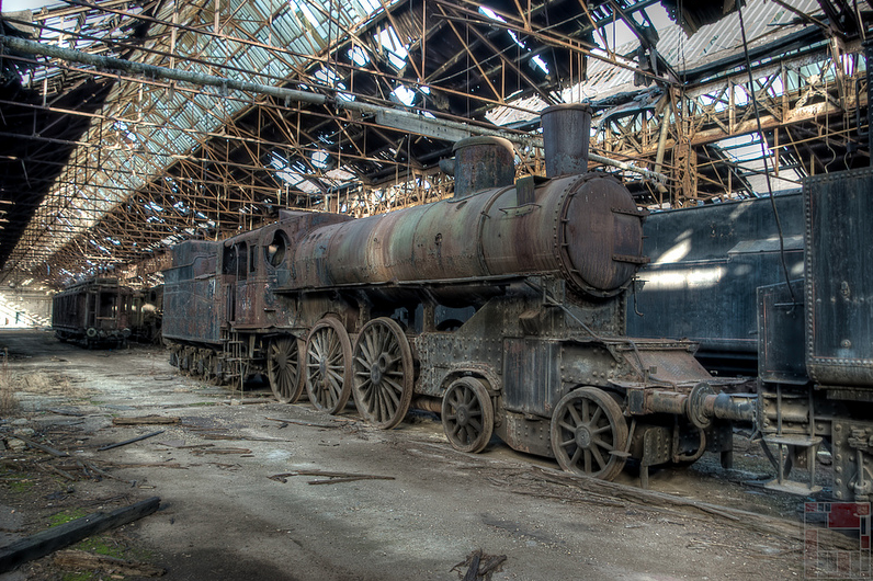 Behold The Rusting Beauty Of Abandoned Train Graveyards