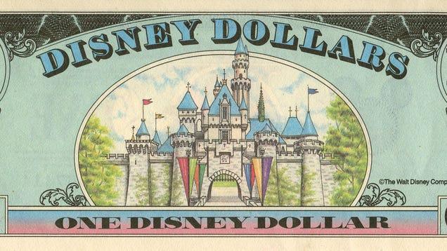 Disney Will Stop Printing Disney Dollars This Week