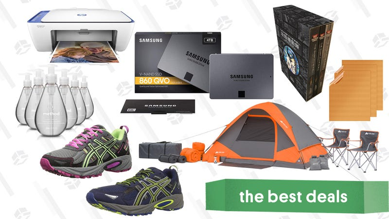 Illustration for article titled Tuesday's Best Deals: ASICS Running Shoes, Doritos, Ghost in the Shell, Razer Keyboard, and More