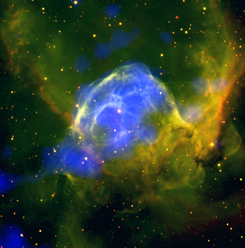 Illustration for article titled Behold the Mighty Thor's Helmet ... Nebula