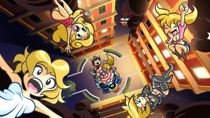 Illustration for article titled Mighty Switch Force 2 is Following its Predecessor Onto Wii U