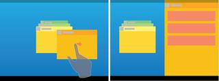 Illustration for article titled Así podría ser la multitarea que veremos en Android
