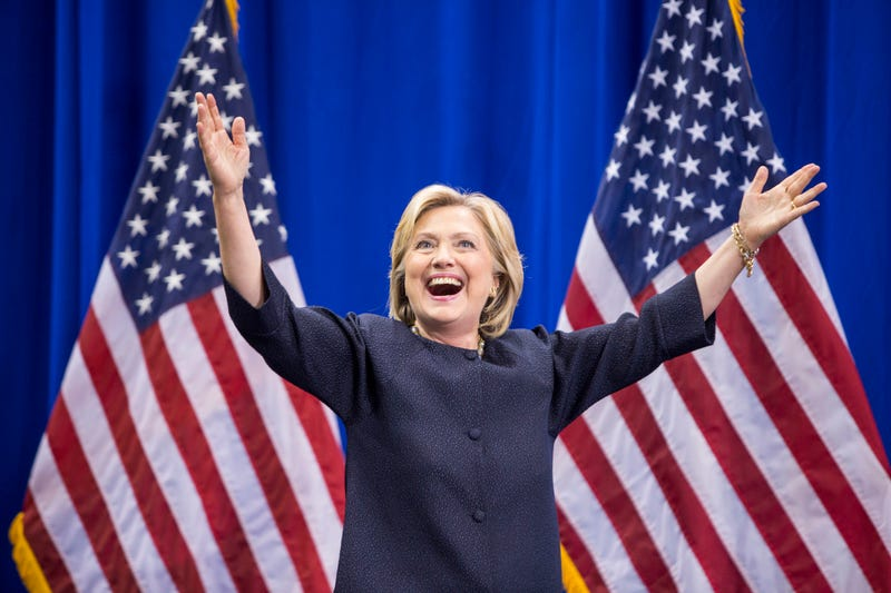 Democratic presidential candidate Hillary Clinton in 2015Scott Eisen/Getty Images