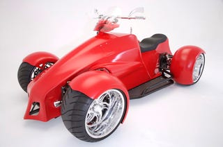 Illustration for article titled SEMA 2007: Small Block Chevy Quadracycle