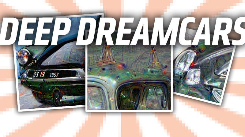 Illustration for article titled This Is How Google's Dreaming Robot Sees Cars