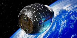Illustration for article titled NASA's Prototype ISS Habitat Is an Inflatable Grow House