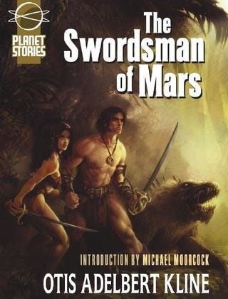 Illustration for article titled Pulp Classic The Swordsman of Mars Rescued from Publisher's Brutal Hack Job
