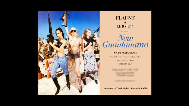 Illustration for article titled Flaunt Magazine Is Throwing a Guantanamo-Themed Coachella Party