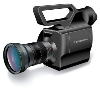 Illustration for article titled Panasonic Takes Micro Four Thirds Design To AG-AF100 Pro Camcorder