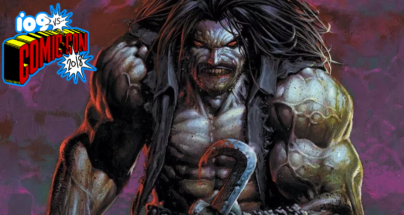 Lobo, who's on his way to Krypton.