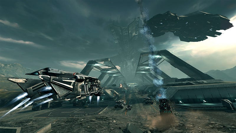 Illustration for article titled How DUST 514 and EVE Online Bridge the Gap Between PC and PlayStation 3