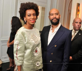 Solange Knowles and Alan Ferguson in 2013Stephen Lovekin/Getty Images