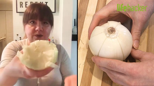 Is This the Best Way to Dice an Onion?