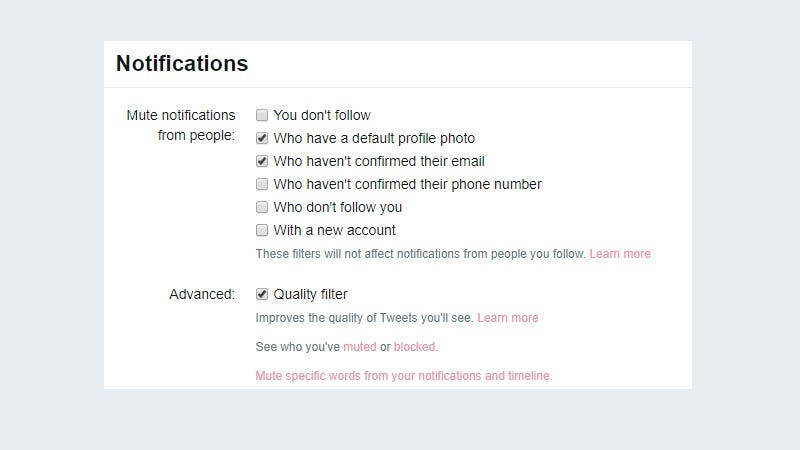 New Twitter Tool Allows For Muting Of New Users and Strangers