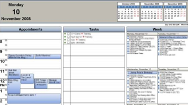 Calendar printing assistant prints your outlook 2007 for Calendar printing assistant templates