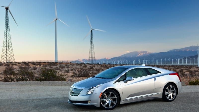 Illustration for article titled Cadillac ELR Connects To The Smart Grid