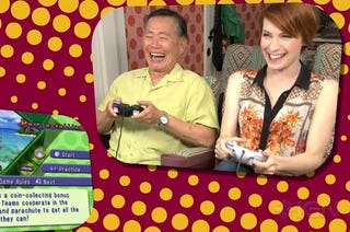 Illustration for article titled Takei and Day Play Video Games, Win The Internet