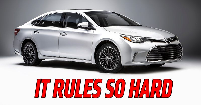 Illustration for article titled I Drove A Toyota Avalon And It Ruled