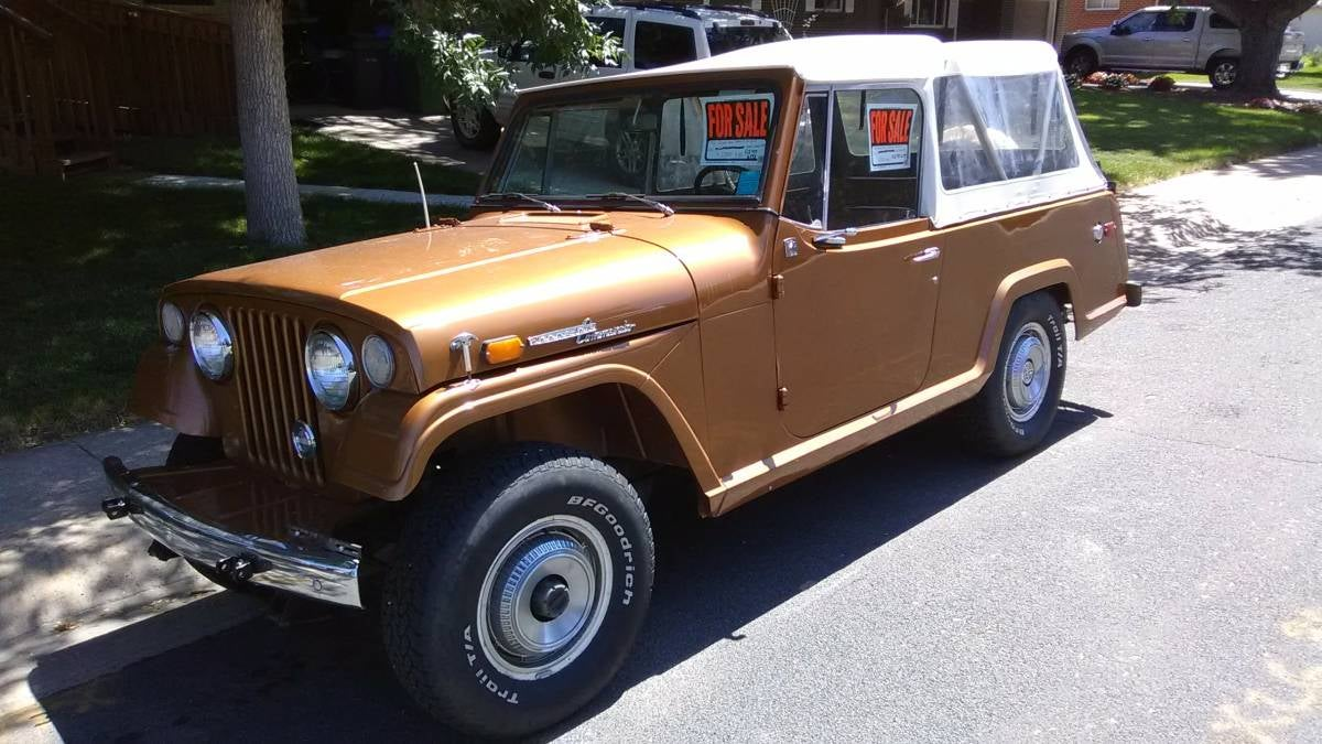 for $12,500, could this 1969 jeep commando put you in command?1969 Kaiser Jeep Jeepster Commando #4