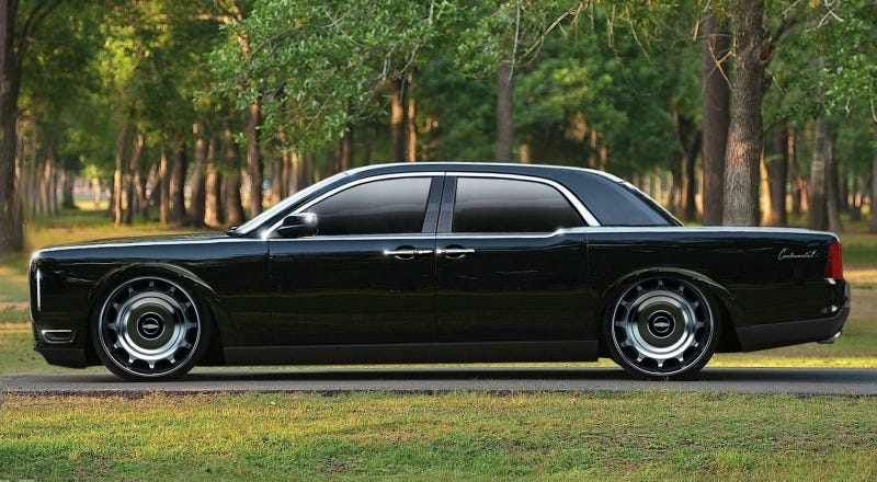 Illustration for article titled New Lincoln Continental?