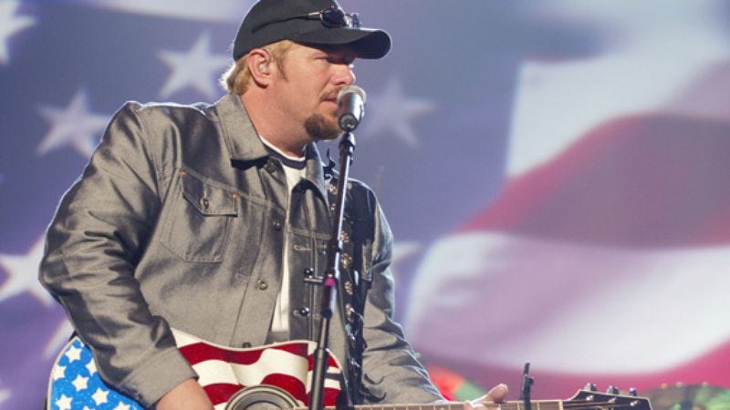 Illustration for article titled Week 31: Toby Keith, American