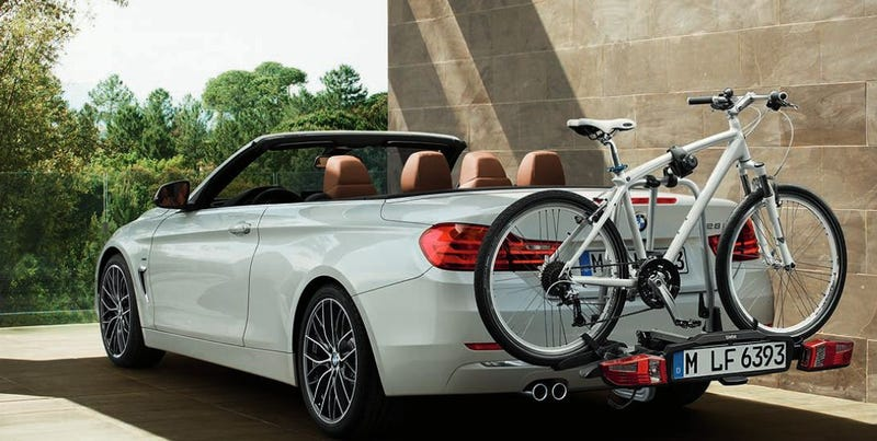 Illustration for article titled The 2014 BMW 4-Series Convertible Is Pretty Much What We Expected