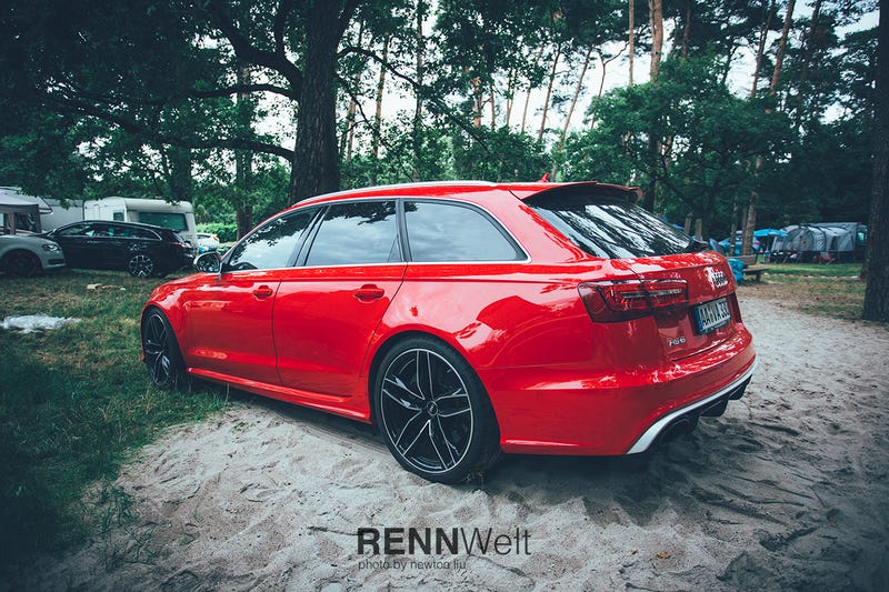 Illustration for article titled Summertime hiatus update and an Audi RS6