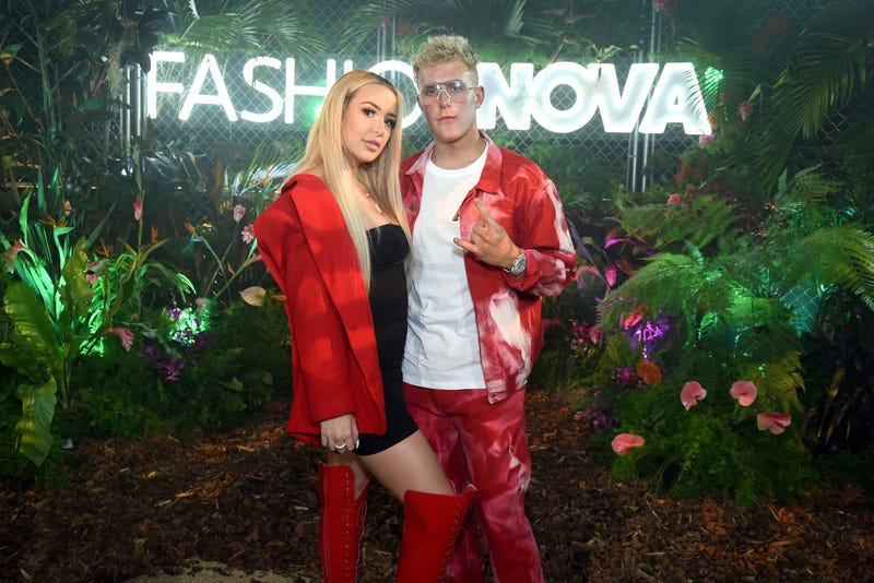 Illustration for article titled Prankster Jake Paul Pranked By Prankster Fiancé Tana Mongeau With Prank Pregnancy