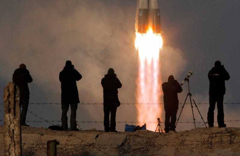 Illustration for article titled This Morning'sSoyuz Launch Made It Safely Into Orbit