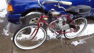 Two wheels giggling like a schoolgirl