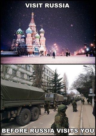 Illustration for article titled Látogass el Oroszországba, mielőtt Oroszország látogat meg téged