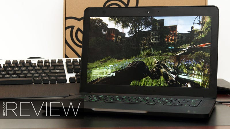 Illustration for article titled Razer Blade 2015 Review: Finally Living the Thin Gaming Laptop Dream