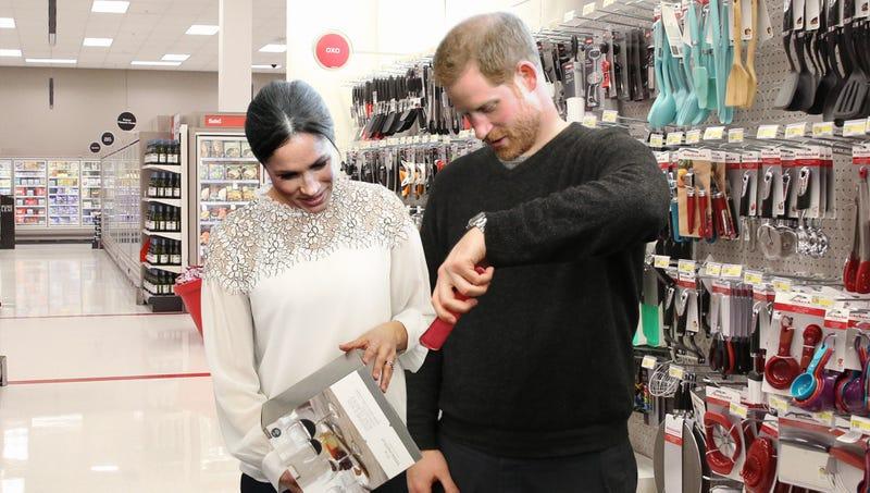 Illustration for article titled Prince Harry, Meghan Markle Set Up Bridal Registry At London-Area Target