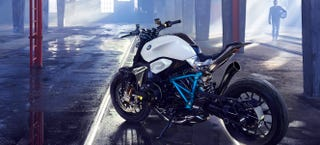 Illustration for article titled The BMW Concept Roadster Looks Like An i8 Motorcycle