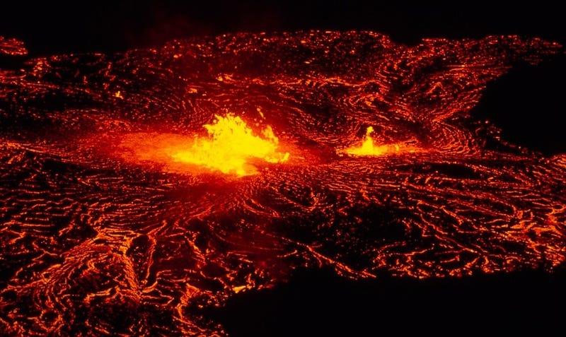 Illustration for article titled Este grupo de humanos sobrevivió a la erupción del supervolcán que arrasó el planeta hace 74.000 años