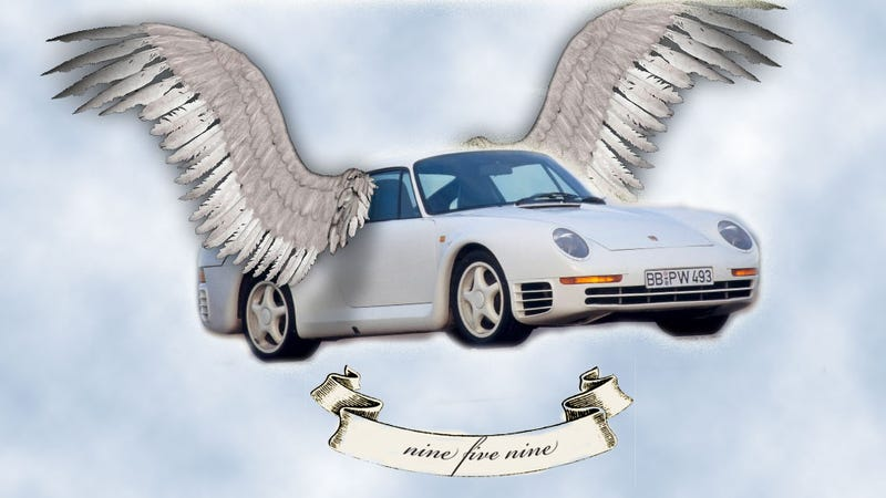 Illustration for article titled A Priceless Porsche 959 Got Totaled And It Was All My Fault