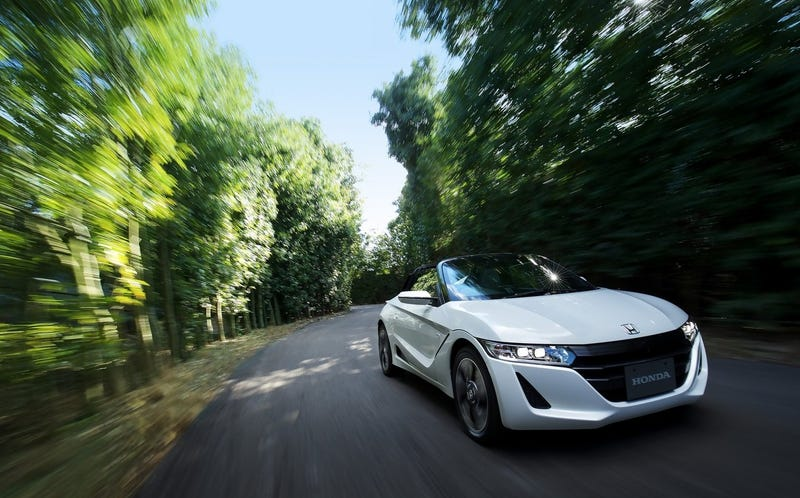 Honda S660. Too small and too not-sold-in-America, but the right idea.