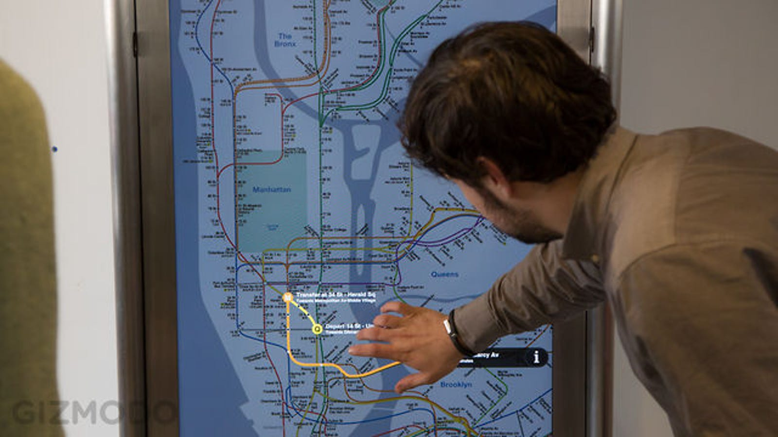 The Indestructible Touchscreen Kiosks That Will Take Over New York's Subways