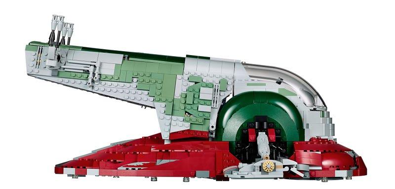 Illustration for article titled Slave I en Lego: el tesoro que todo fan de Star Wars desearía tener