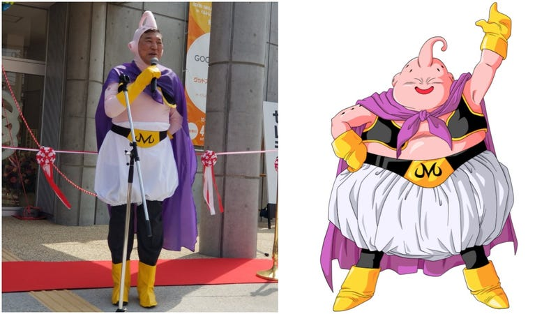 Illustration for article titled Politicians Should Always Cosplay As Dragon Ball Characters