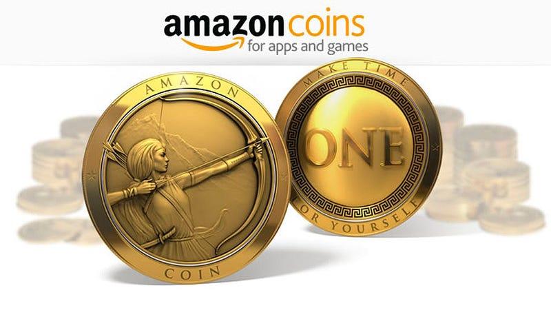 Illustration for article titled Amazon lanza su propia moneda virtual, los Amazon Coins