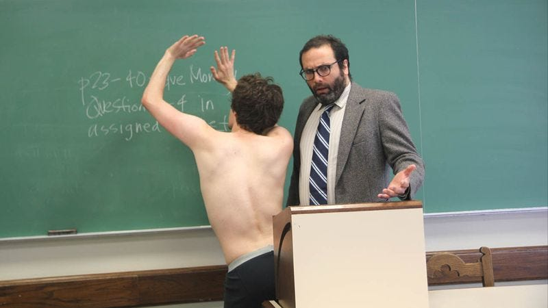 Illustration for article titled Why Paying For A College Education, Showing Up To Class Nude, Gyrating Against The Professor, And Getting Immediately Expelled May Not Be Worth What It Once Was