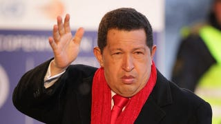 Illustration for article titled Hugo Chavez Subtly Suggests That The U.S. Government Is Shooting World Leaders Full Of Cancer