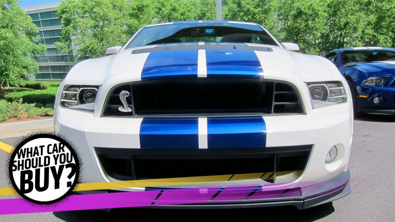 Illustration for article titled I Just Had Twins So The Shelby Mustang Has To Go! What Car Should I Buy?