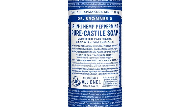 Illustration for article titled Soapmaker Dr. Bronner to burn your earholes with album