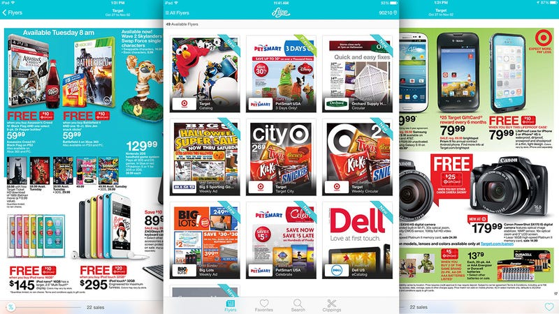 Illustration for article titled Flipp Delivers Circulars To Your Tablet Instead of Your Porch