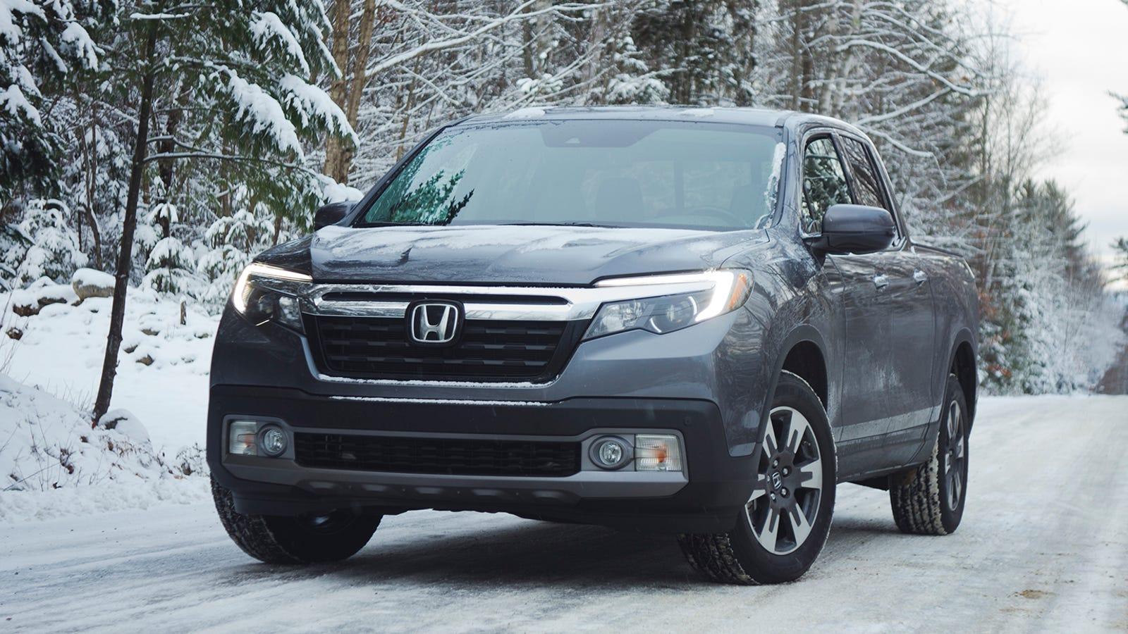 Image Result For Honda Ridgeline In Snow