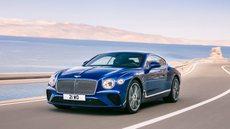 Illustration for article titled Hot Damn The New Bentley Continental GT Looks Good