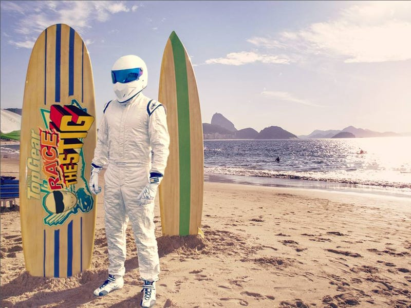 Illustration for article titled The stig on vacations