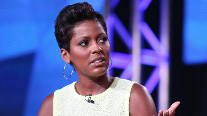 Illustration for article titled Jerk Reporter Annoyed at Tamron Hall for Talking About Sister's Death